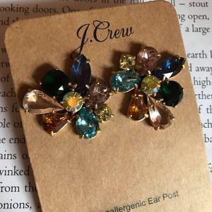 Colorful JCrew earrings